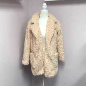 Blush Sweater Coat/Jacket by Shop The Trends